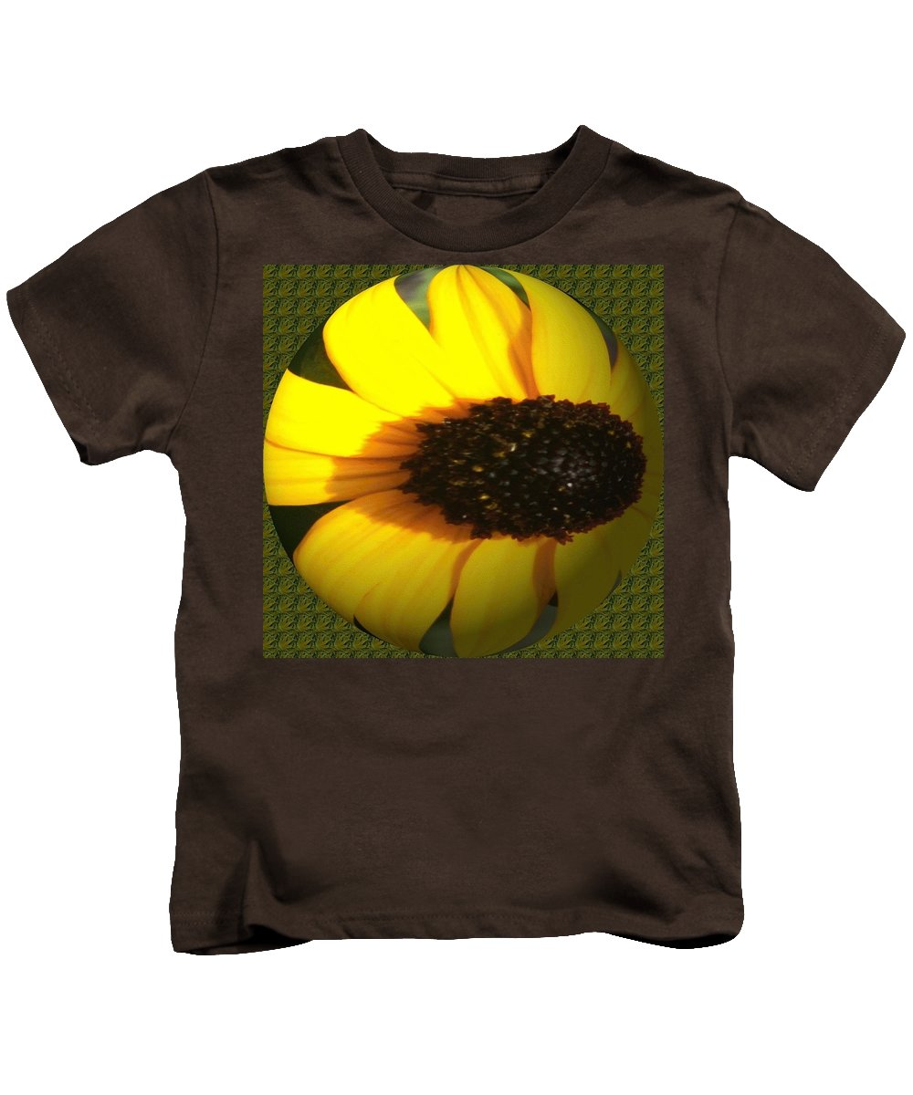 Kids T-Shirt featuring the photograph Sunny Side by Barbara S Nickerson
