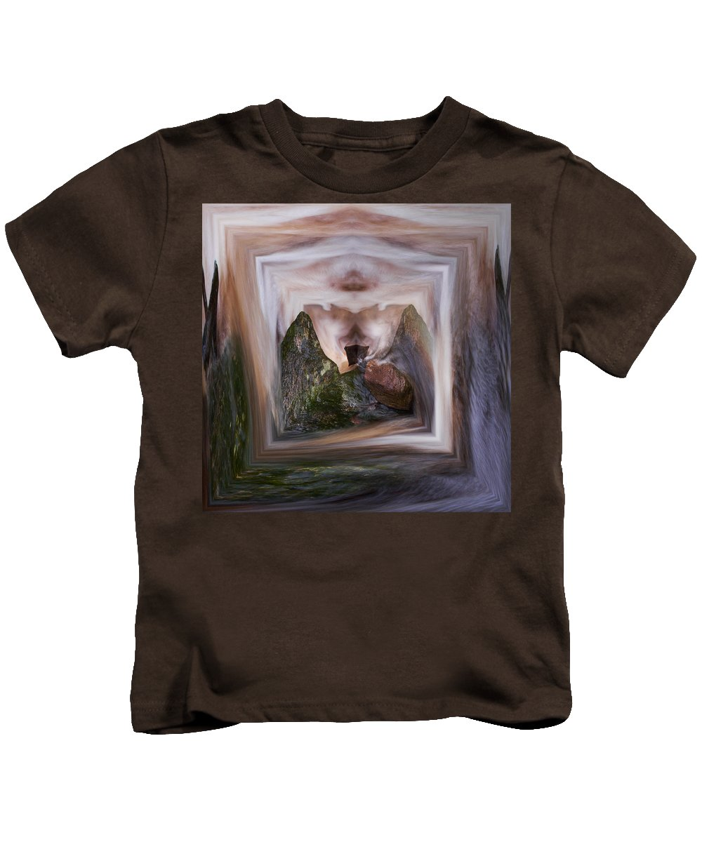 Liesijoki Kids T-Shirt featuring the photograph The Spirit Of Four Seasons by Jouko Lehto