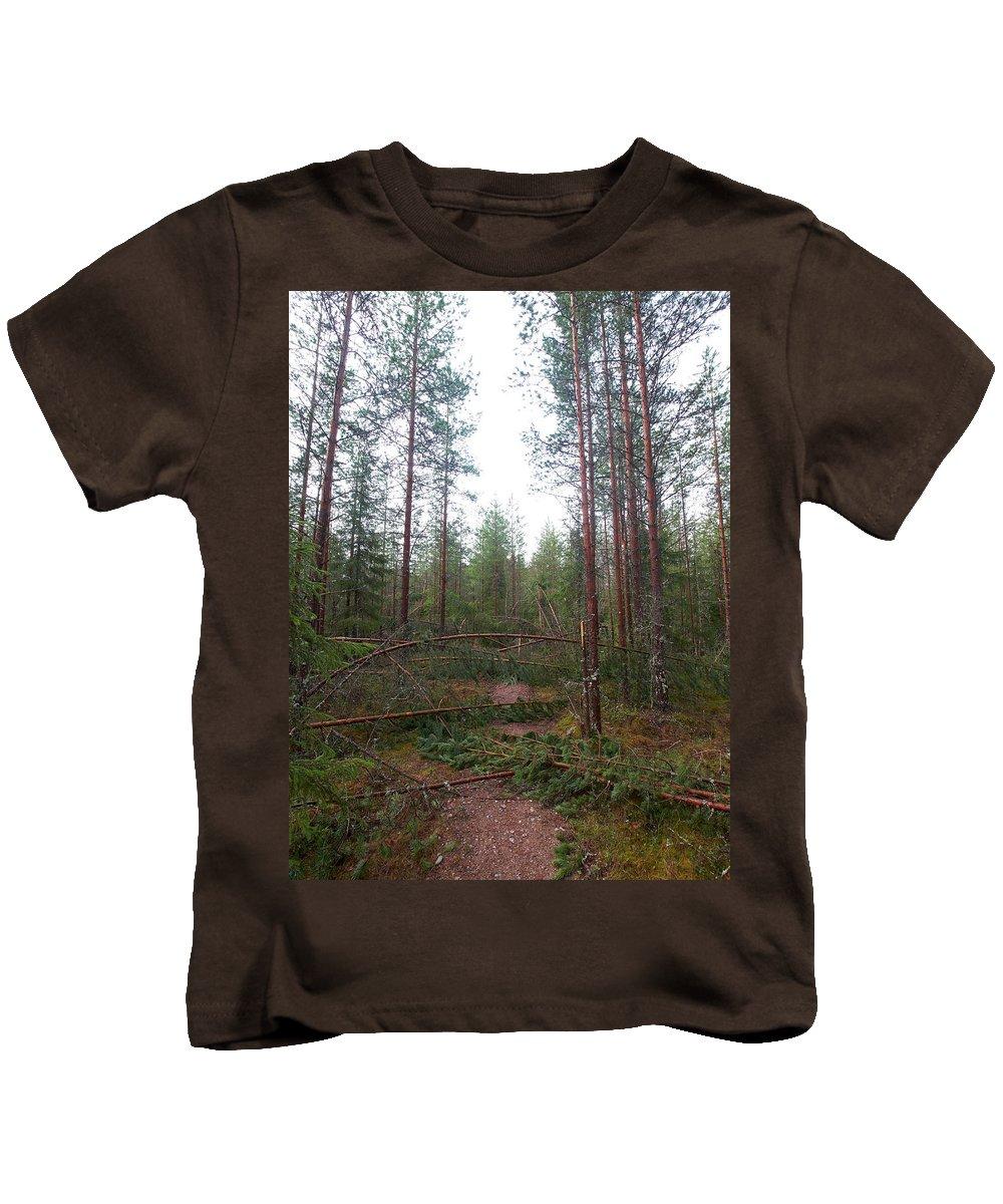Lehtokukka Kids T-Shirt featuring the photograph Time To Turn by Jouko Lehto