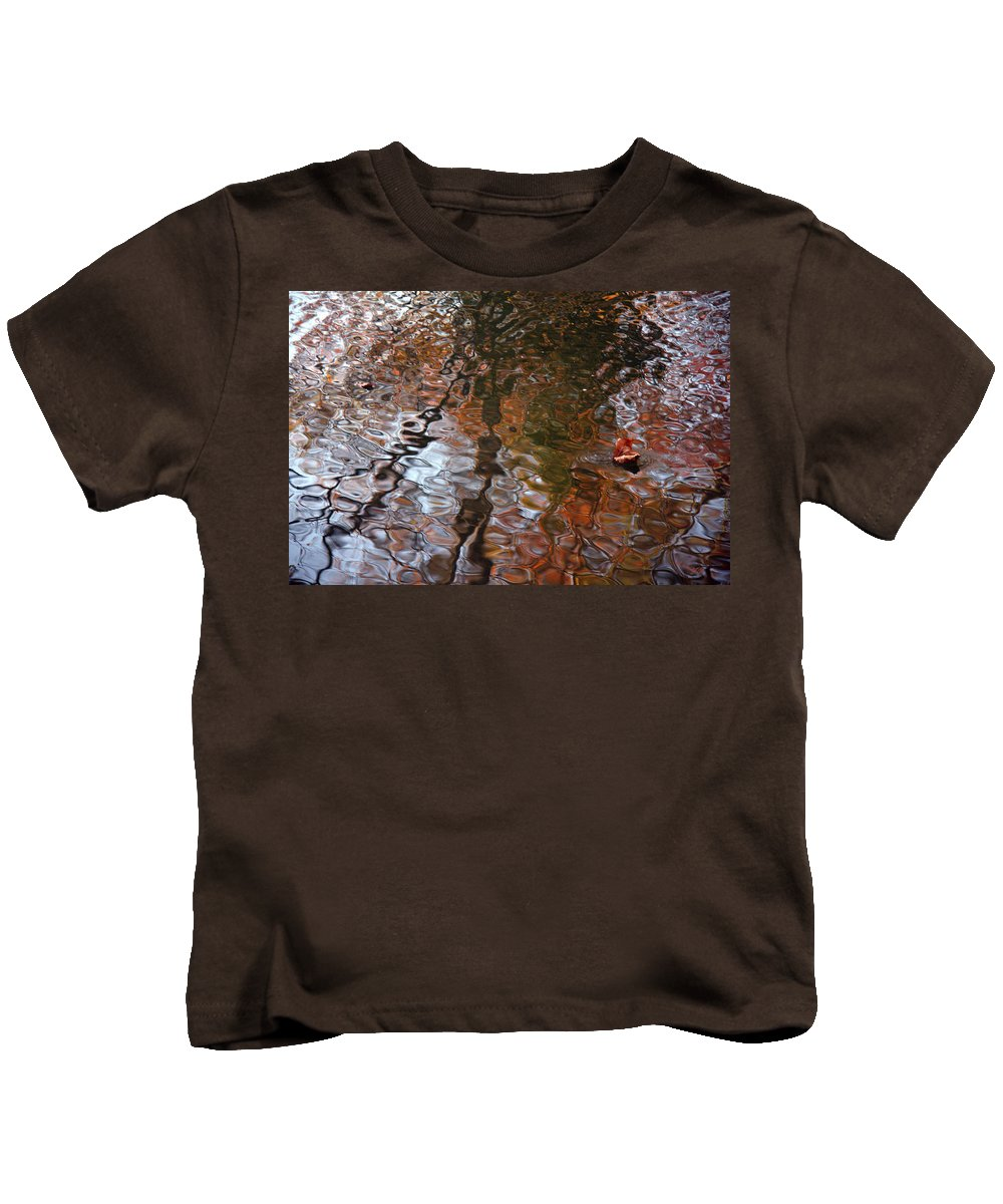 Water Serenade Kids T-Shirt featuring the photograph Water Serenade by Ed Smith