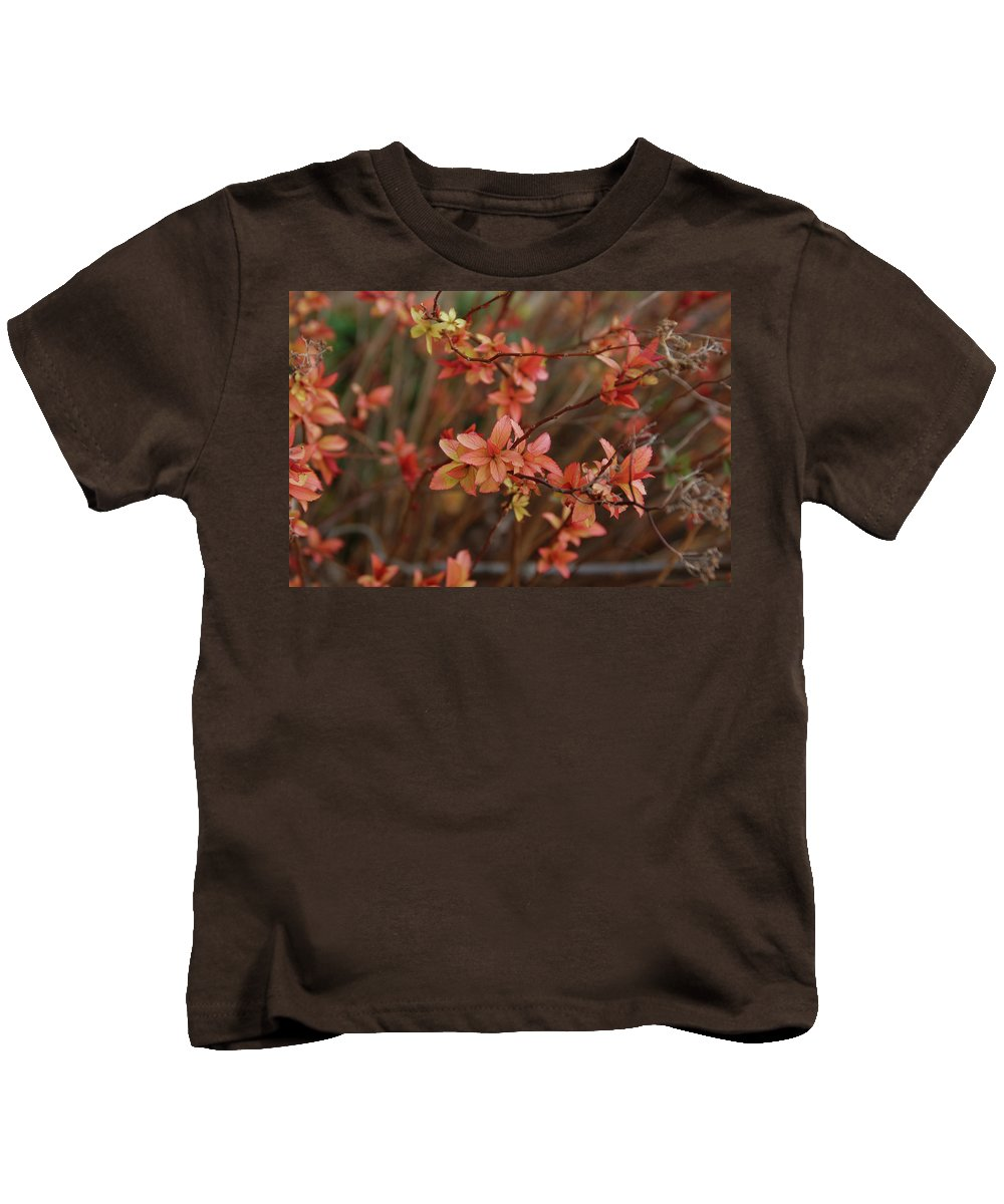 Gardens Kids T-Shirt featuring the photograph Spirea 1280 by Guy Whiteley