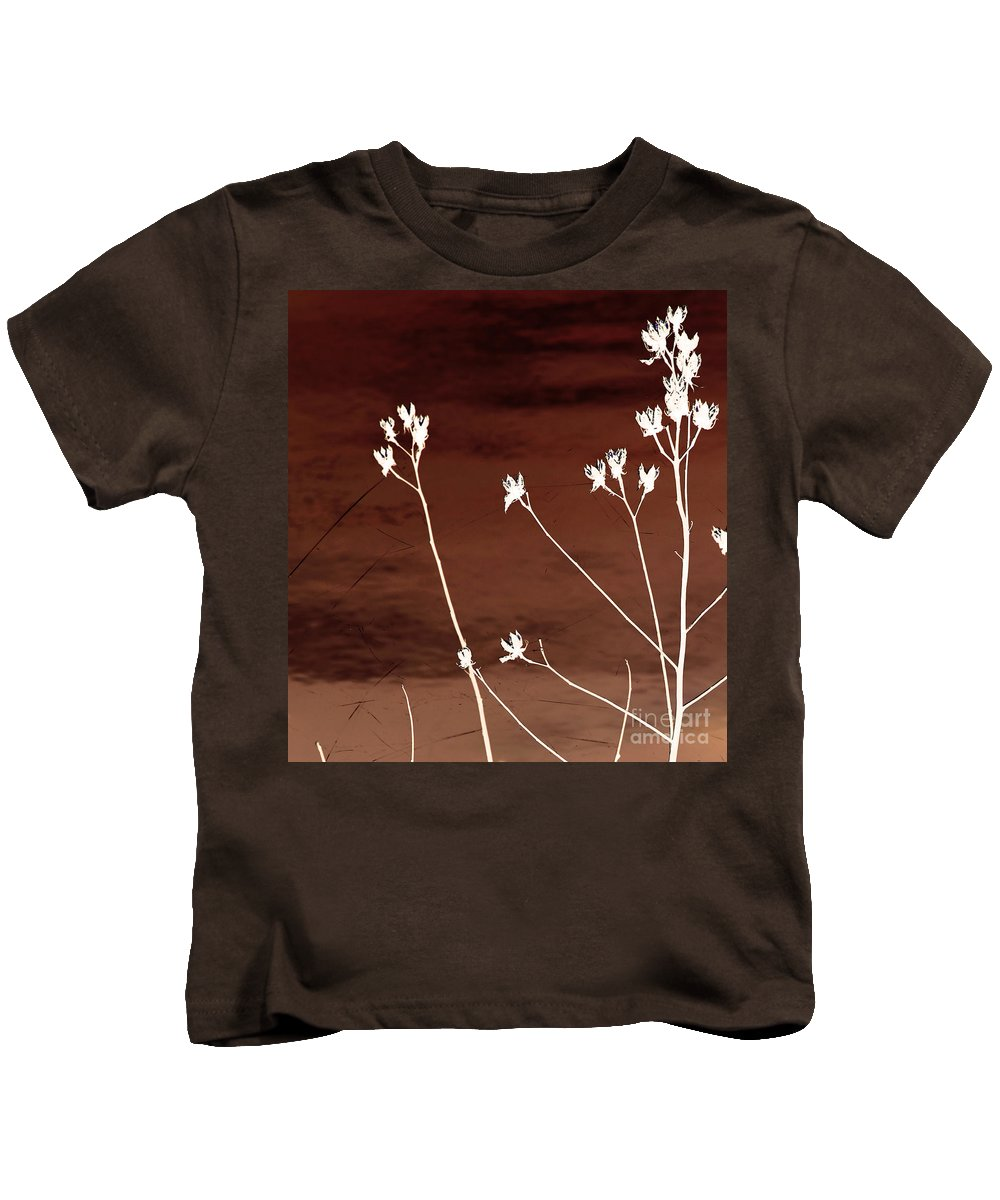 Flowers Kids T-Shirt featuring the photograph Floral by Amanda Barcon