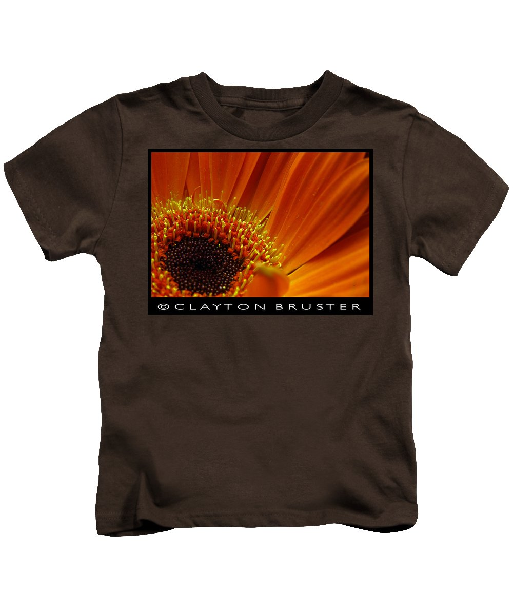 Clay Kids T-Shirt featuring the photograph Floral by Clayton Bruster