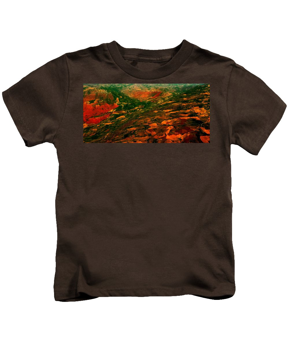 Nature Kids T-Shirt featuring the photograph Happiness by Anna Duyunova
