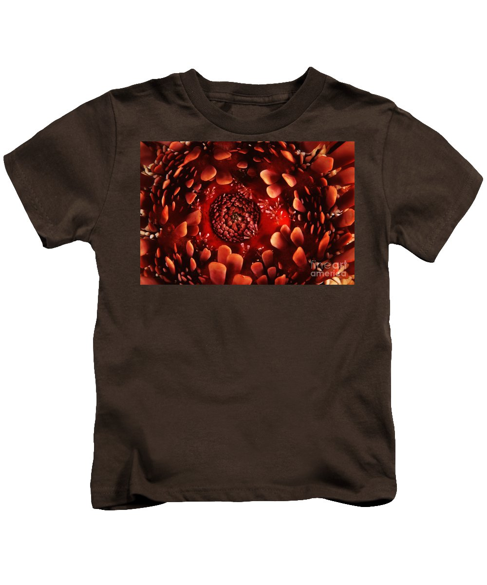 Animal Art Kids T-Shirt featuring the photograph Hawaii Pencil Urchin by Ed Robinson - Printscapes