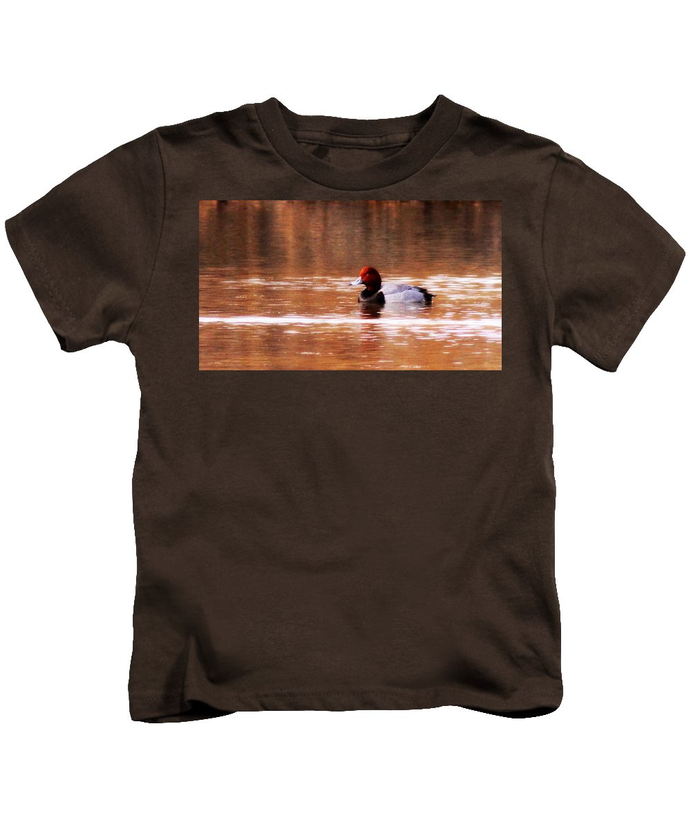Redhead Kids T-Shirt featuring the photograph Img_0001 - Redhead by Travis Truelove