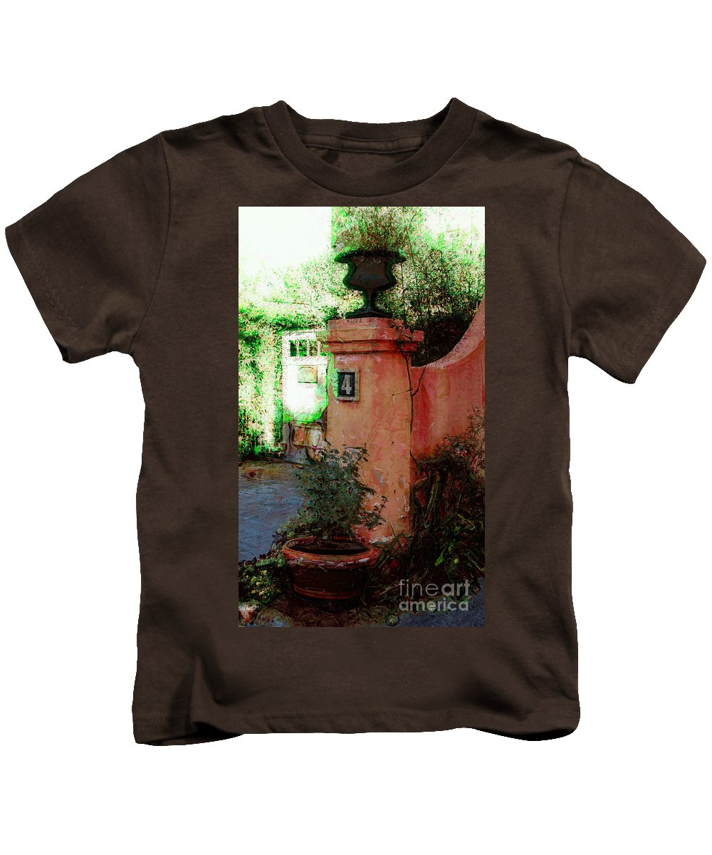 Number Kids T-Shirt featuring the photograph Number 4 by Donna Bentley
