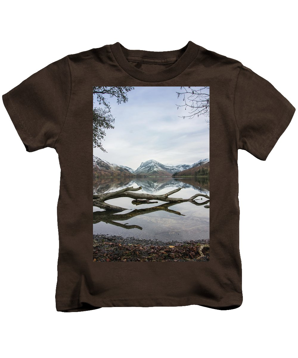 Lake Kids T-Shirt featuring the photograph Lake View by Christopher Carthern