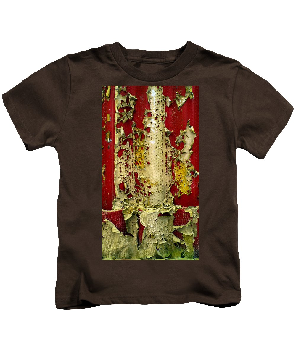 Abstract Kids T-Shirt featuring the photograph 377 At 41 Series 5 by Skip Hunt