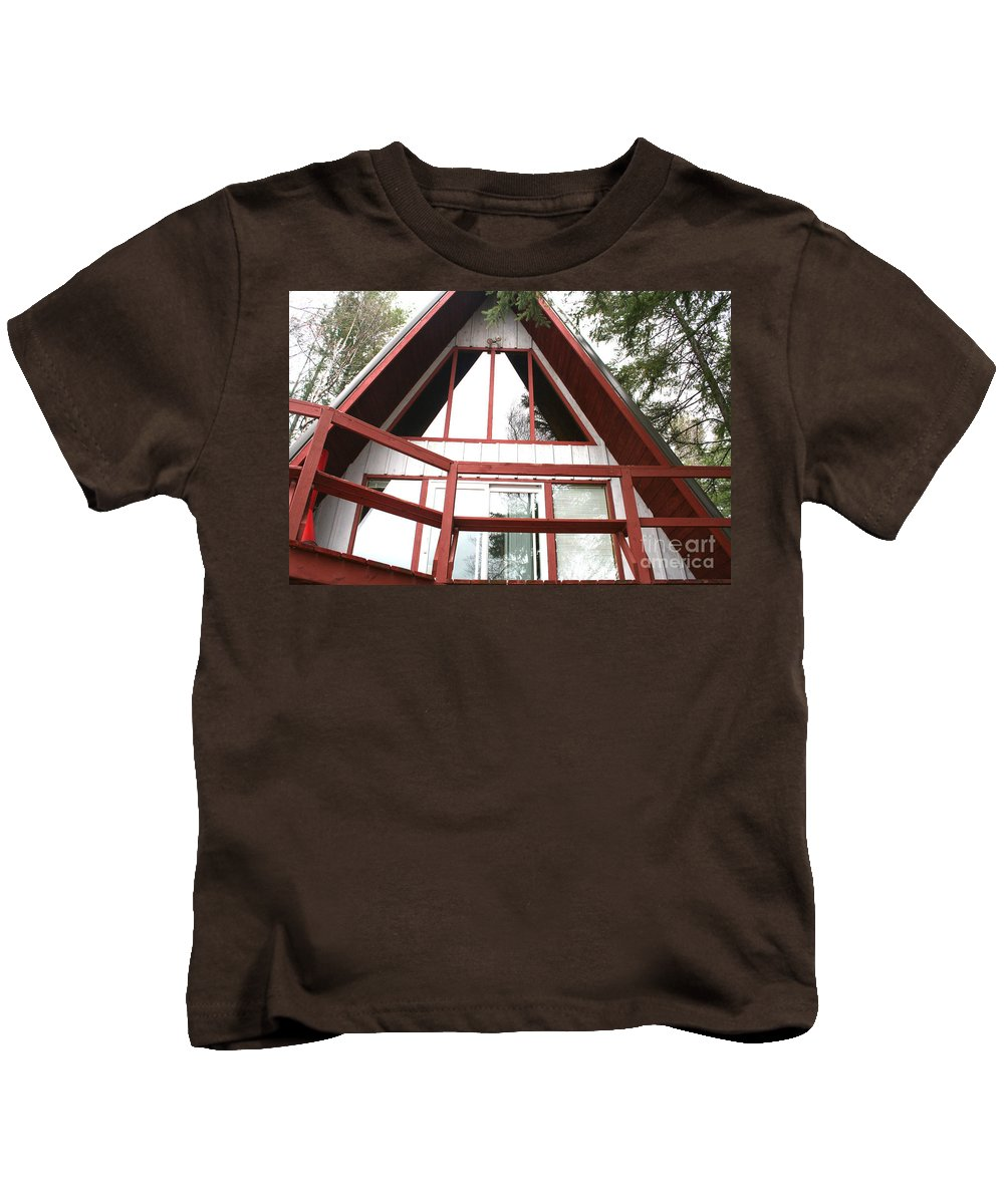Kids T-Shirt featuring the photograph A-frame by Jamie Lynn