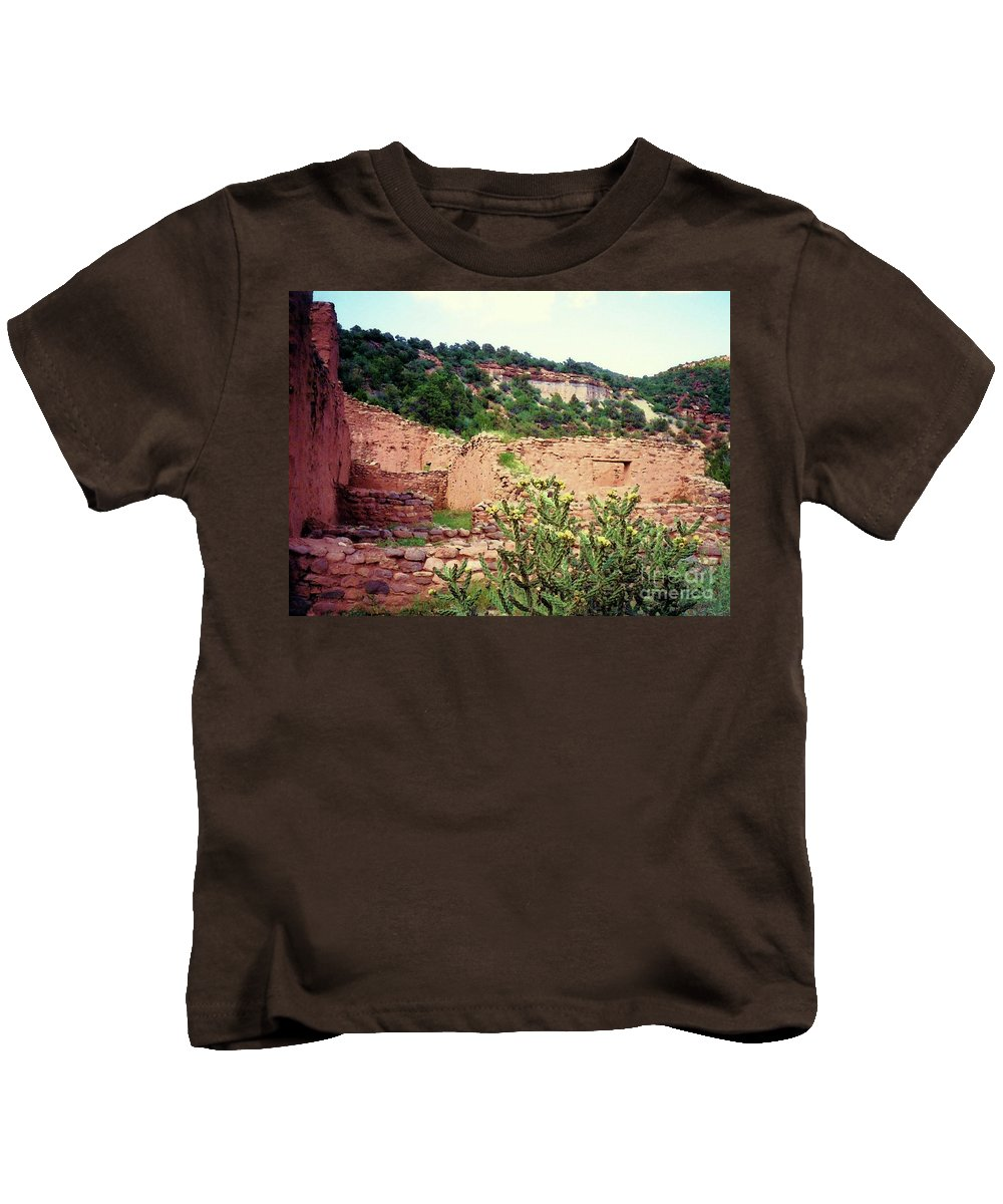 Desert Kids T-Shirt featuring the mixed media American Southwest II by Desiree Paquette