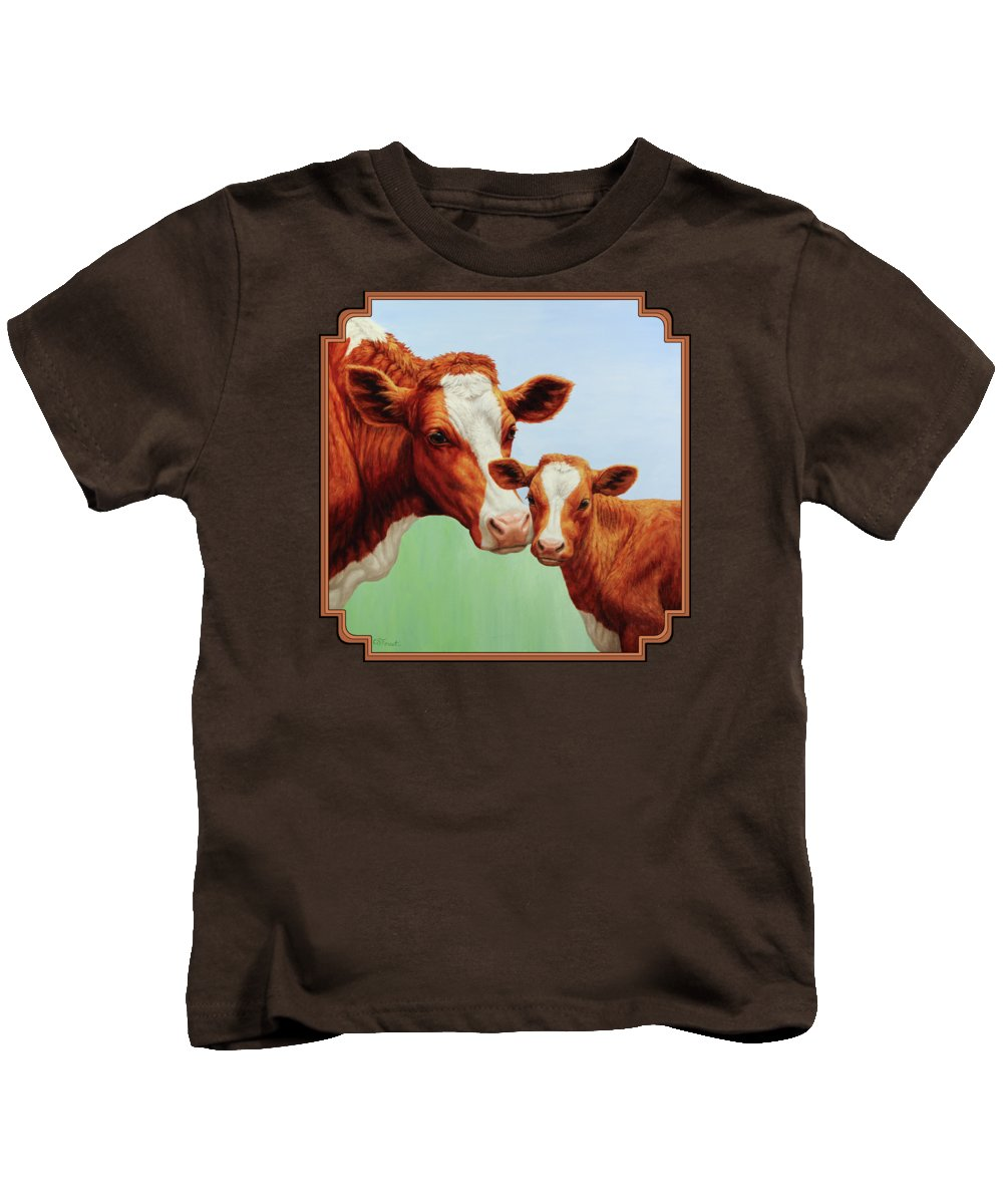 Cow Kids T-Shirts