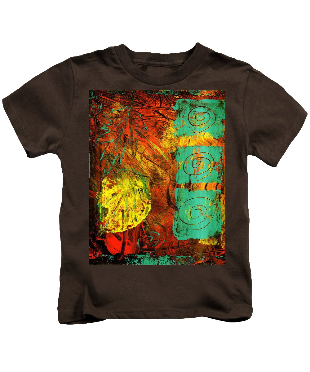 Autumn Kids T-Shirt featuring the painting Autumn by Wayne Potrafka