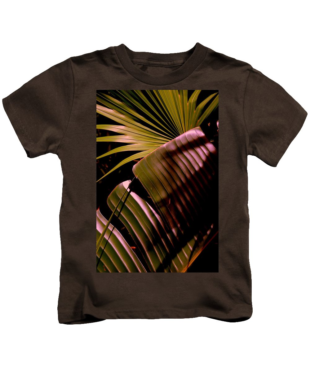 Banana Kids T-Shirt featuring the photograph Banana Leaf by Susanne Van Hulst