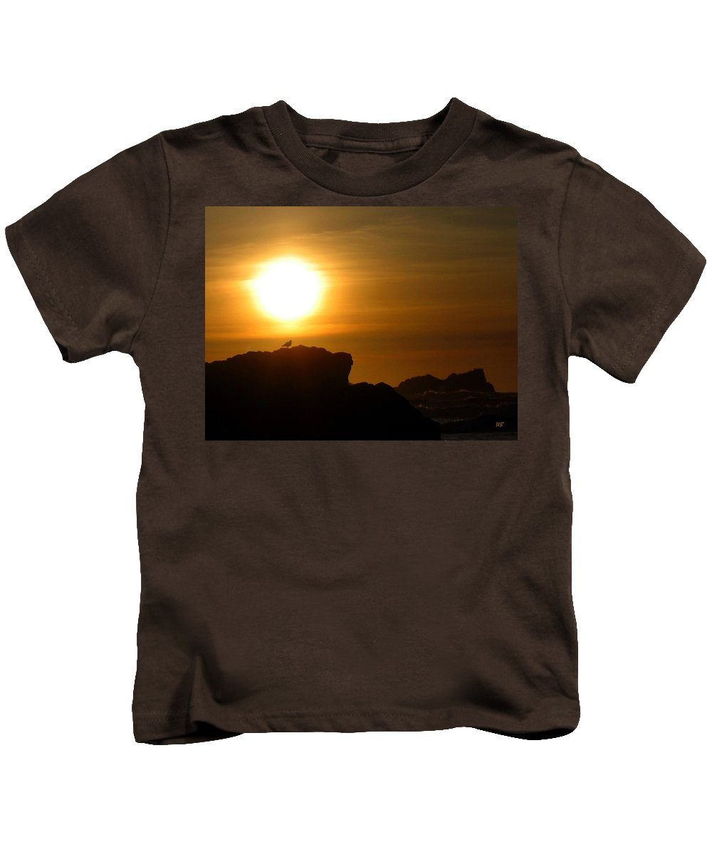 Bandon Kids T-Shirt featuring the photograph Bandon 30 by Will Borden