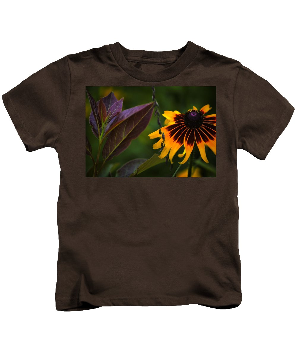 Flowers Kids T-Shirt featuring the photograph Bff's 2 by Robert McCubbin