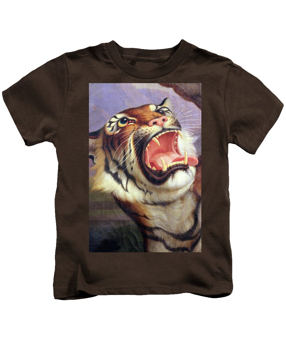 Big Kids T-Shirt featuring the photograph Big Cat by Munir Alawi