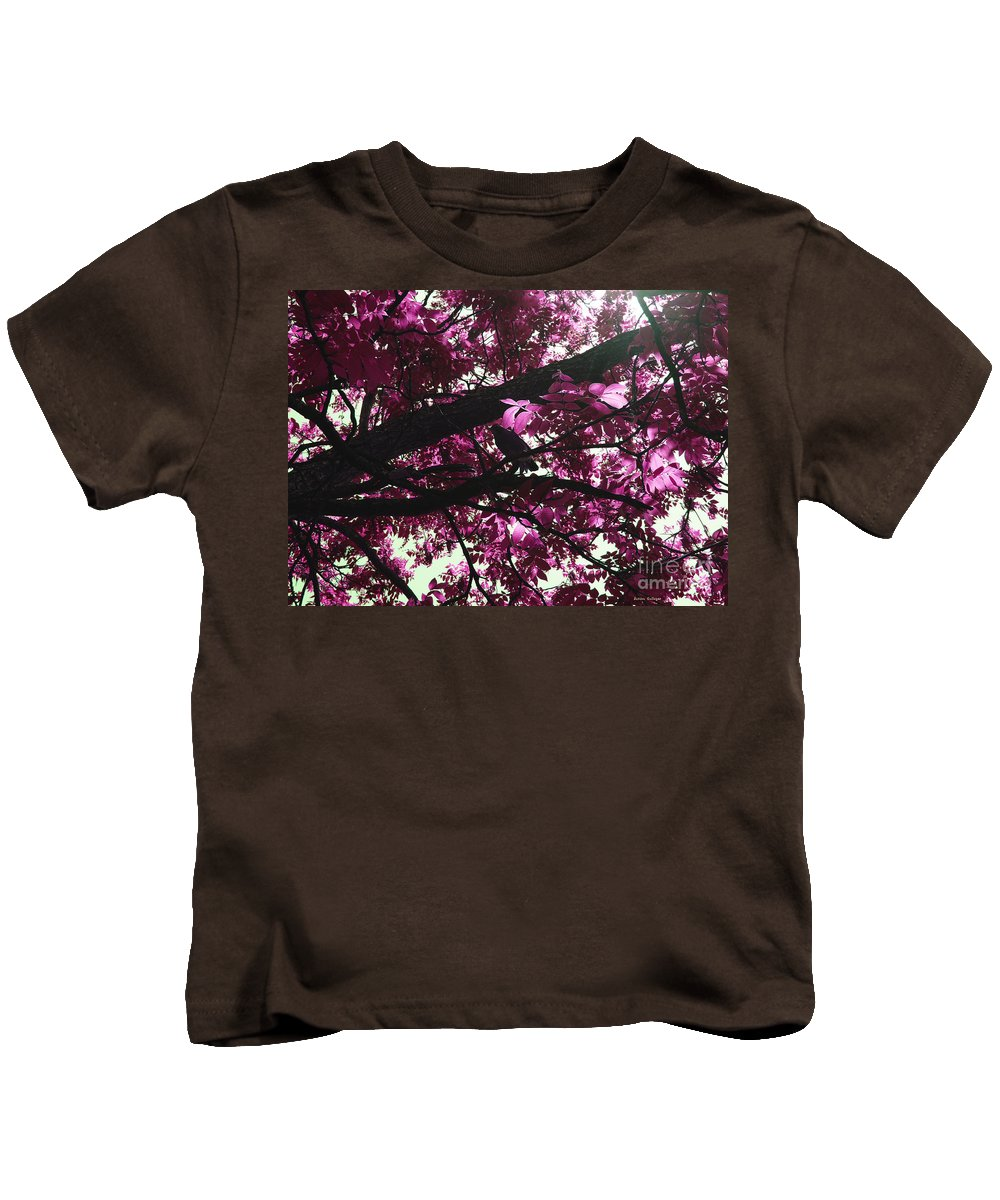 Beautiful Kids T-Shirt featuring the photograph Blissful Morning by Sandra Gallegos