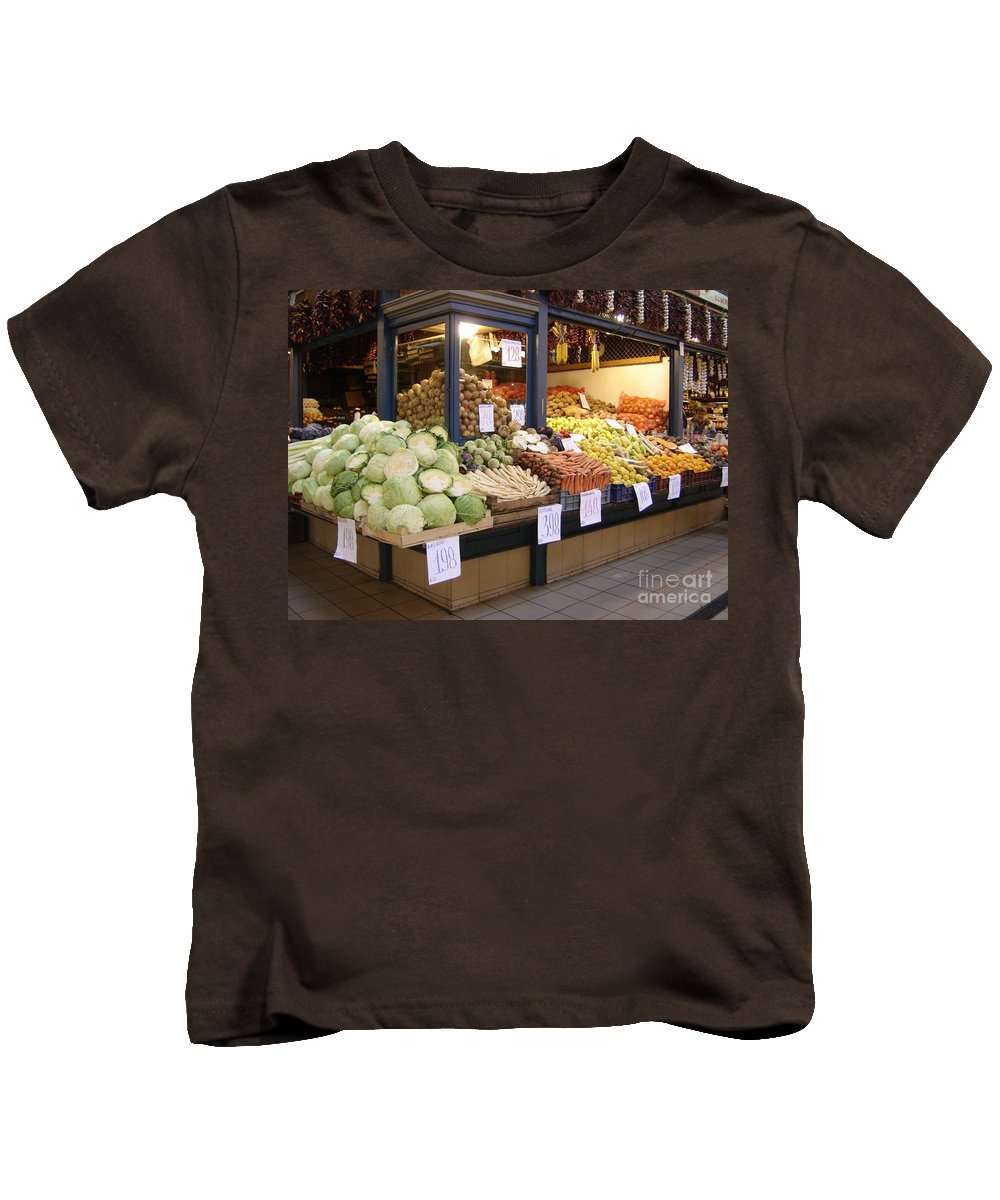 Food Kids T-Shirt featuring the photograph Bountiful by Mary Rogers