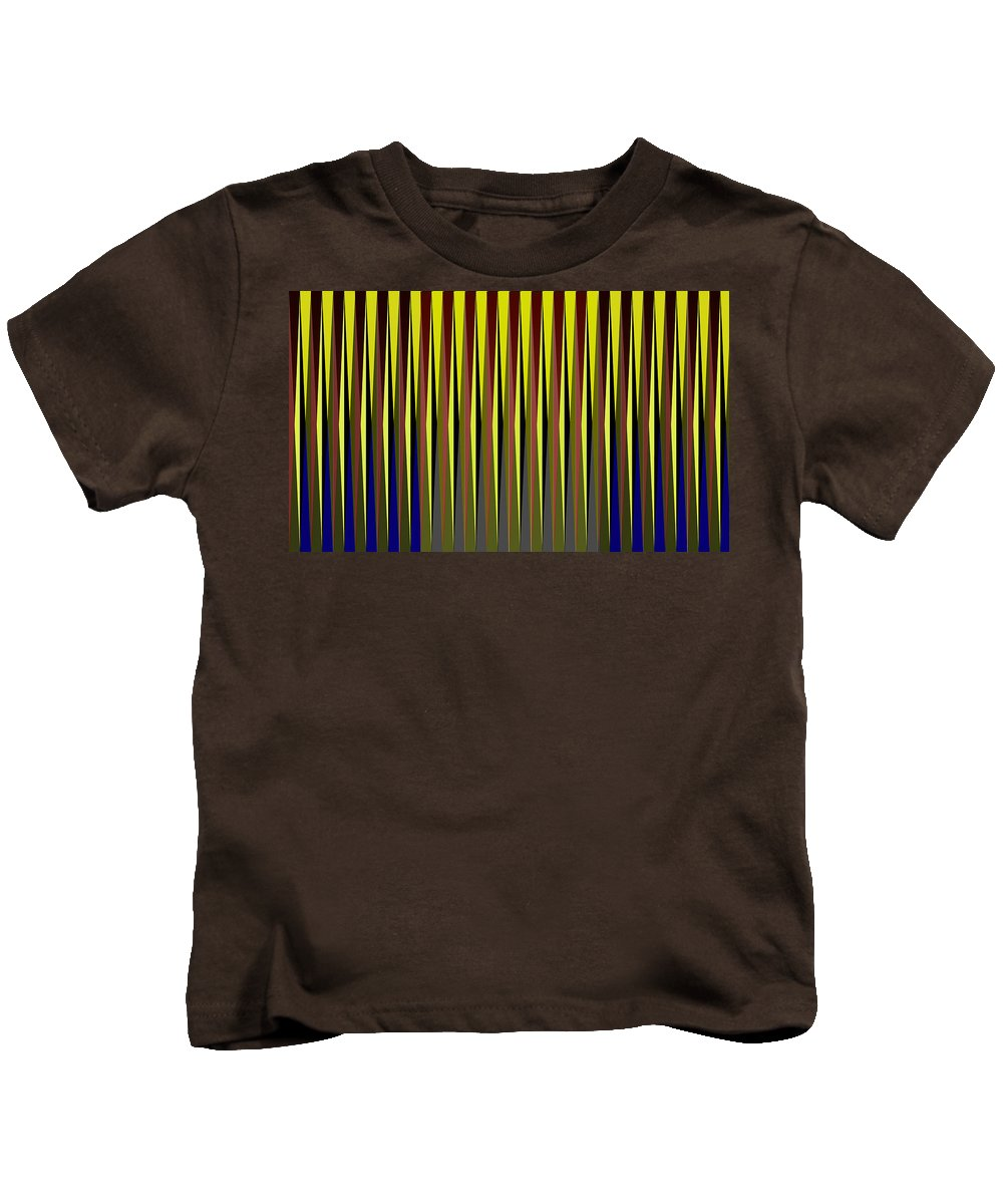 Cinetic Kids T-Shirt featuring the digital art Cinetic Art by Galeria Trompiz