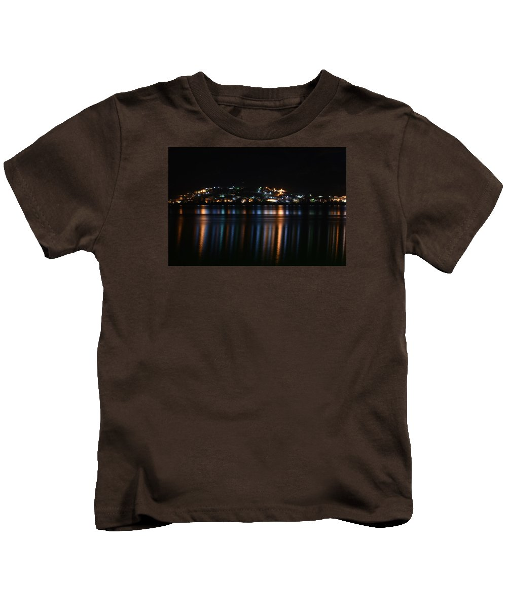 City Kids T-Shirt featuring the photograph City Lights by Dimitrios Karras