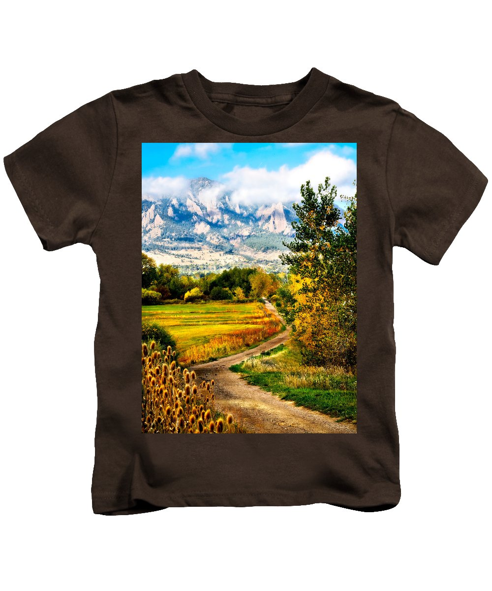 Americana Kids T-Shirt featuring the photograph Clearly Colorado by Marilyn Hunt