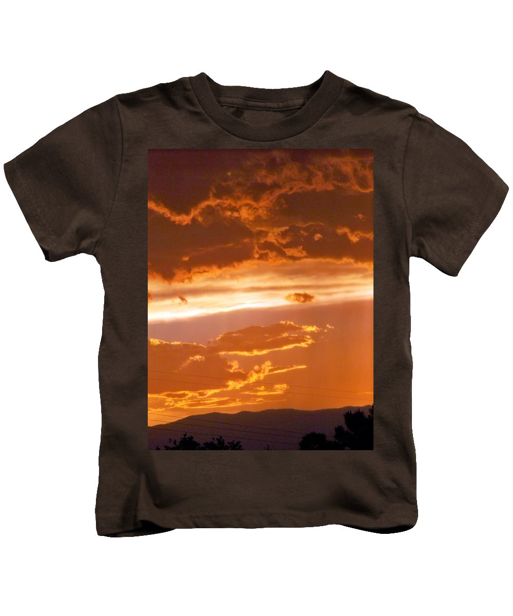 Sky Kids T-Shirt featuring the photograph Cloud Light by Brian Commerford