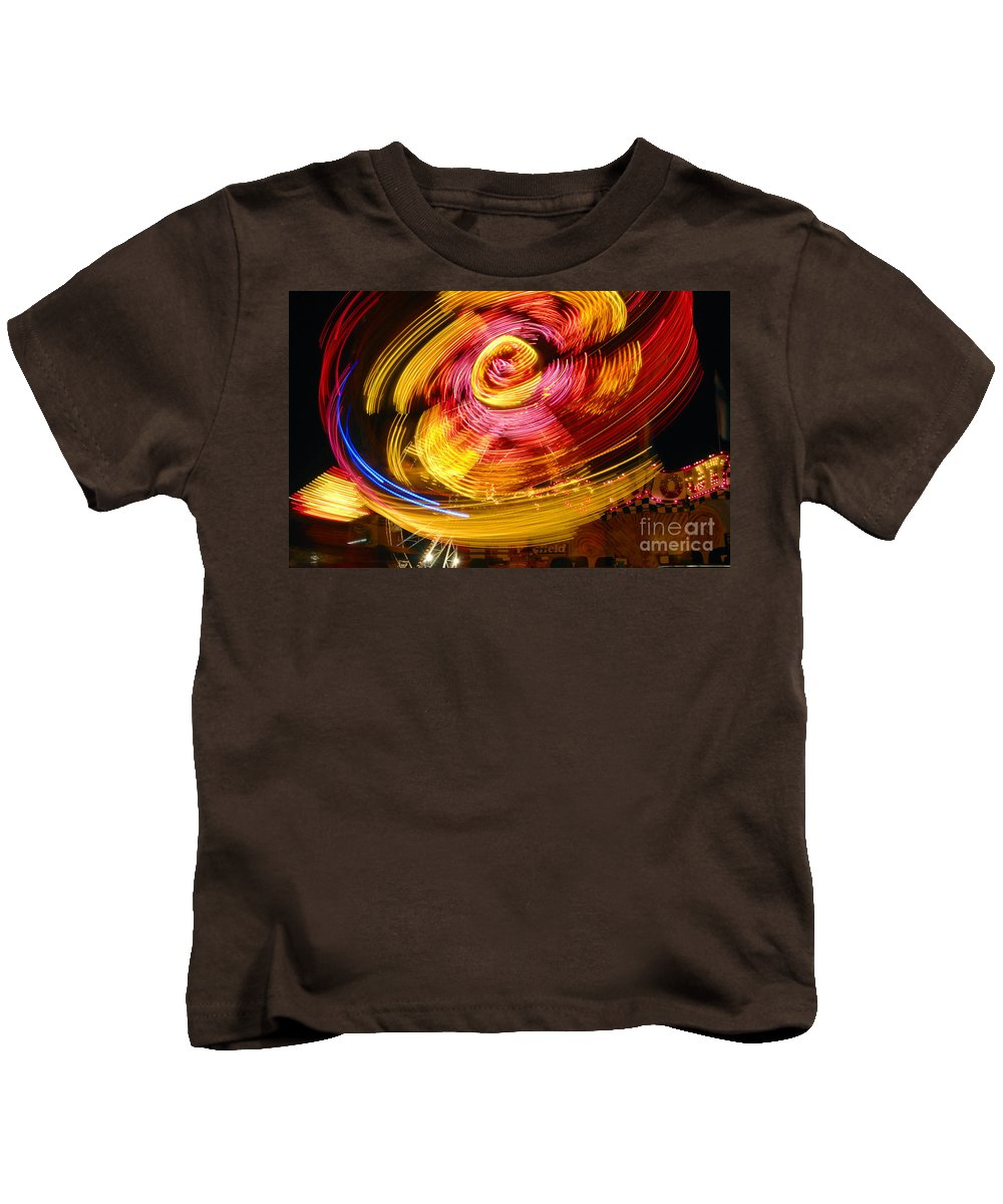 Fair Kids T-Shirt featuring the photograph Color Twist by David Lee Thompson