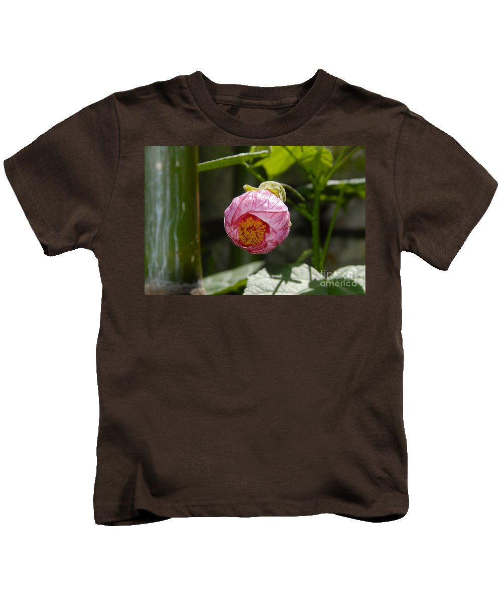 Flower Kids T-Shirt featuring the photograph Coming Out by David Lee Thompson