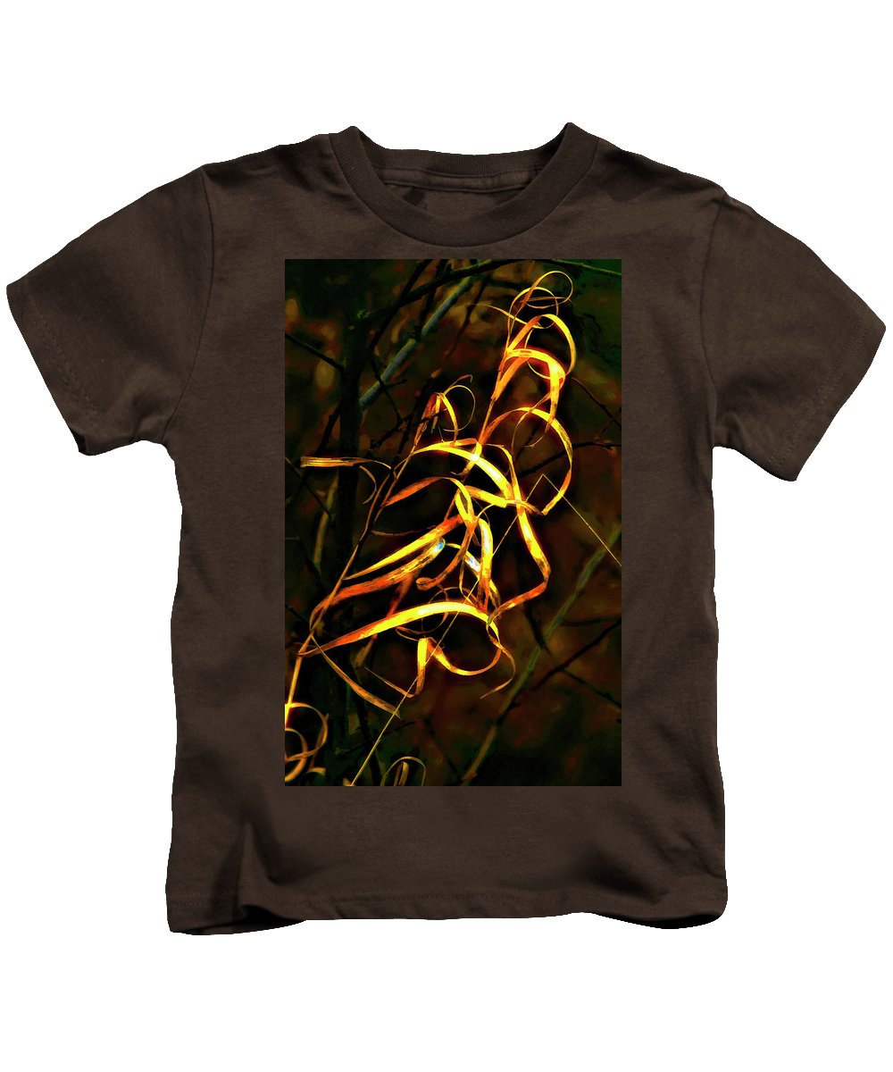 Grass Kids T-Shirt featuring the photograph Curly One by Steve Harrington