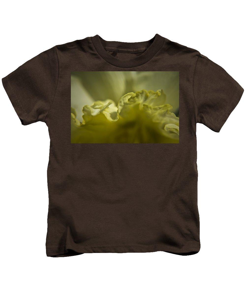 Flower Kids T-Shirt featuring the photograph Daffodil Ruffles by Teresa Mucha