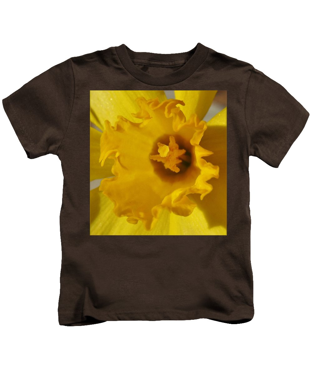 Flower Kids T-Shirt featuring the photograph Dance Of The Daffodil by Honey Behrens