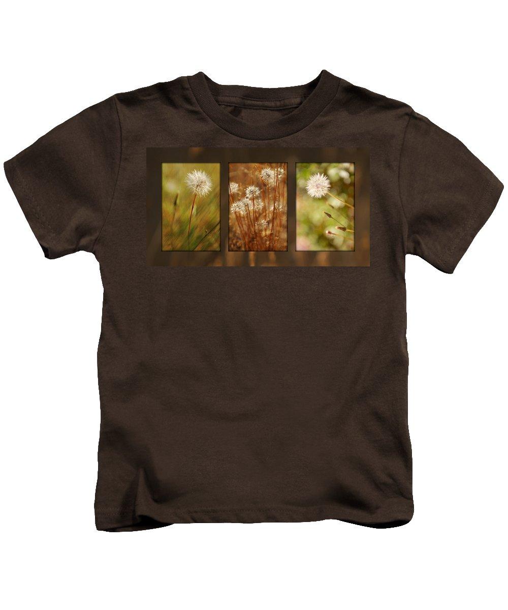 Dandelions Kids T-Shirt featuring the photograph Dandelion Series by Jill Reger