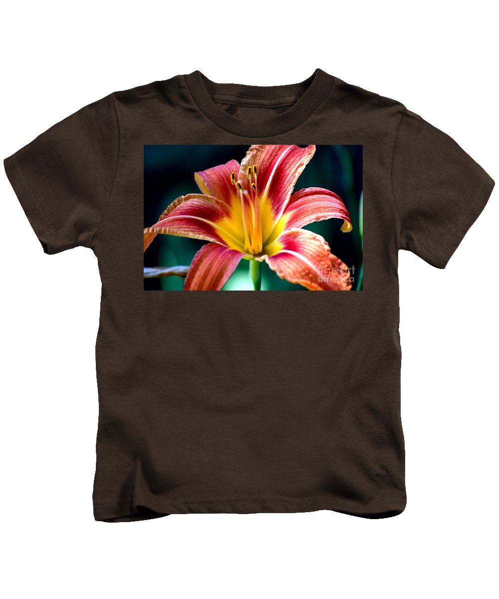 Landscape Kids T-Shirt featuring the photograph Day Lilly by David Lane