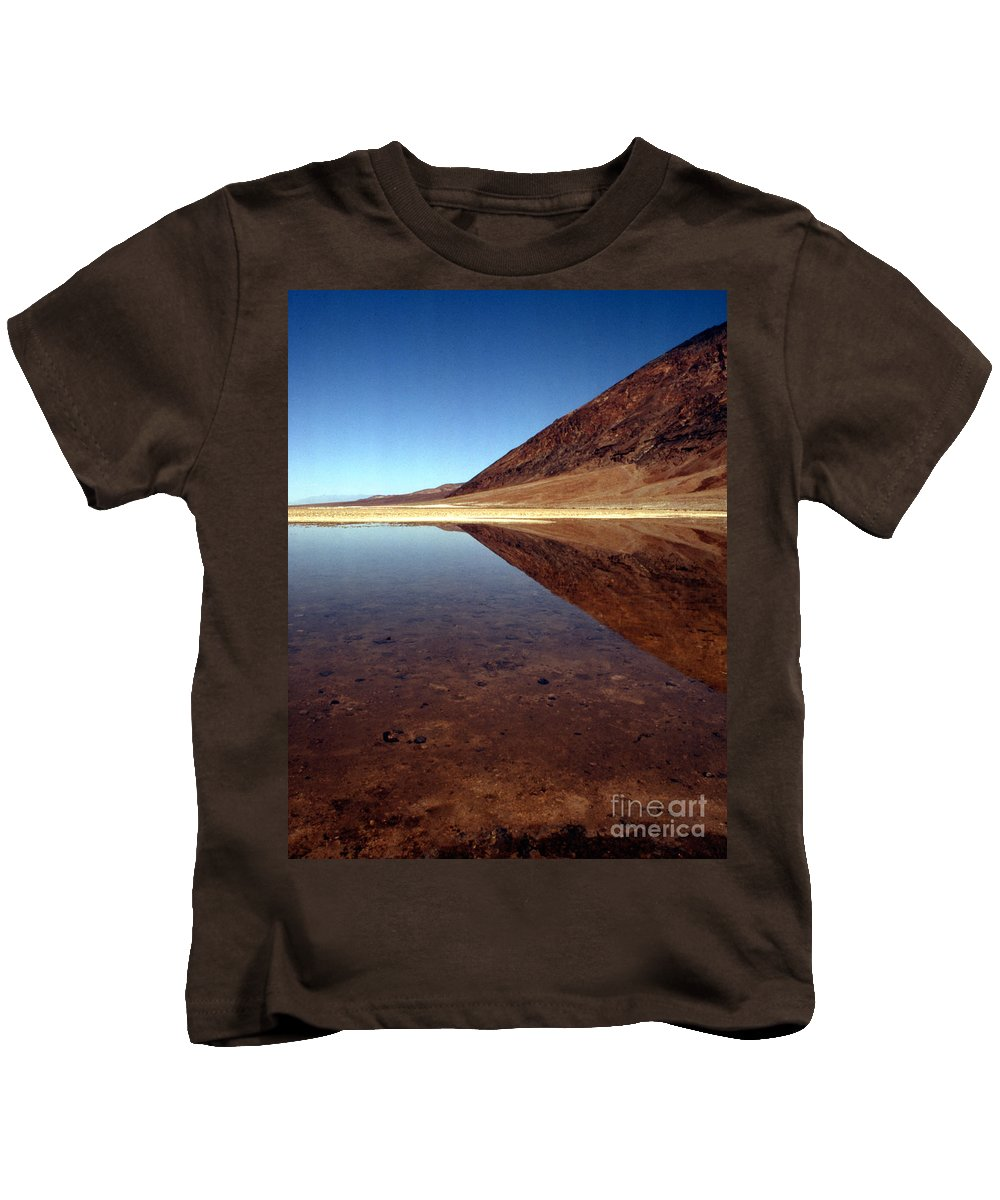 Desert Kids T-Shirt featuring the photograph Death Valley Lake by Norman Andrus