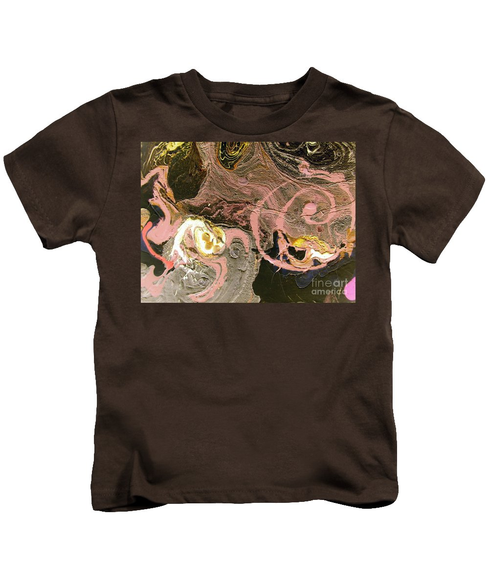 Disaster Kids T-Shirt featuring the painting Disaster In The Making by Dawn Hough Sebaugh