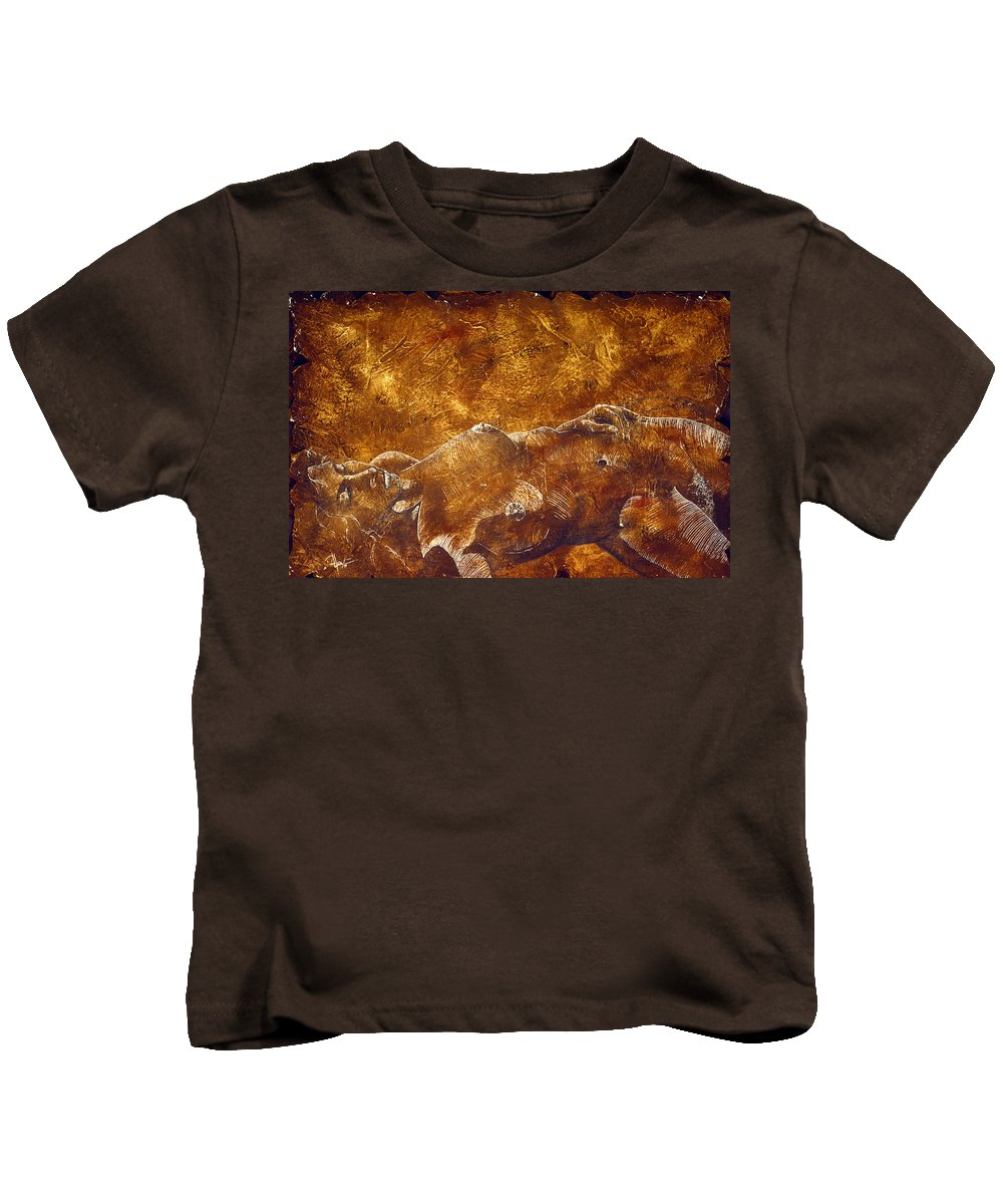 Nude Kids T-Shirt featuring the painting Dorothy Iv by Richard Hoedl