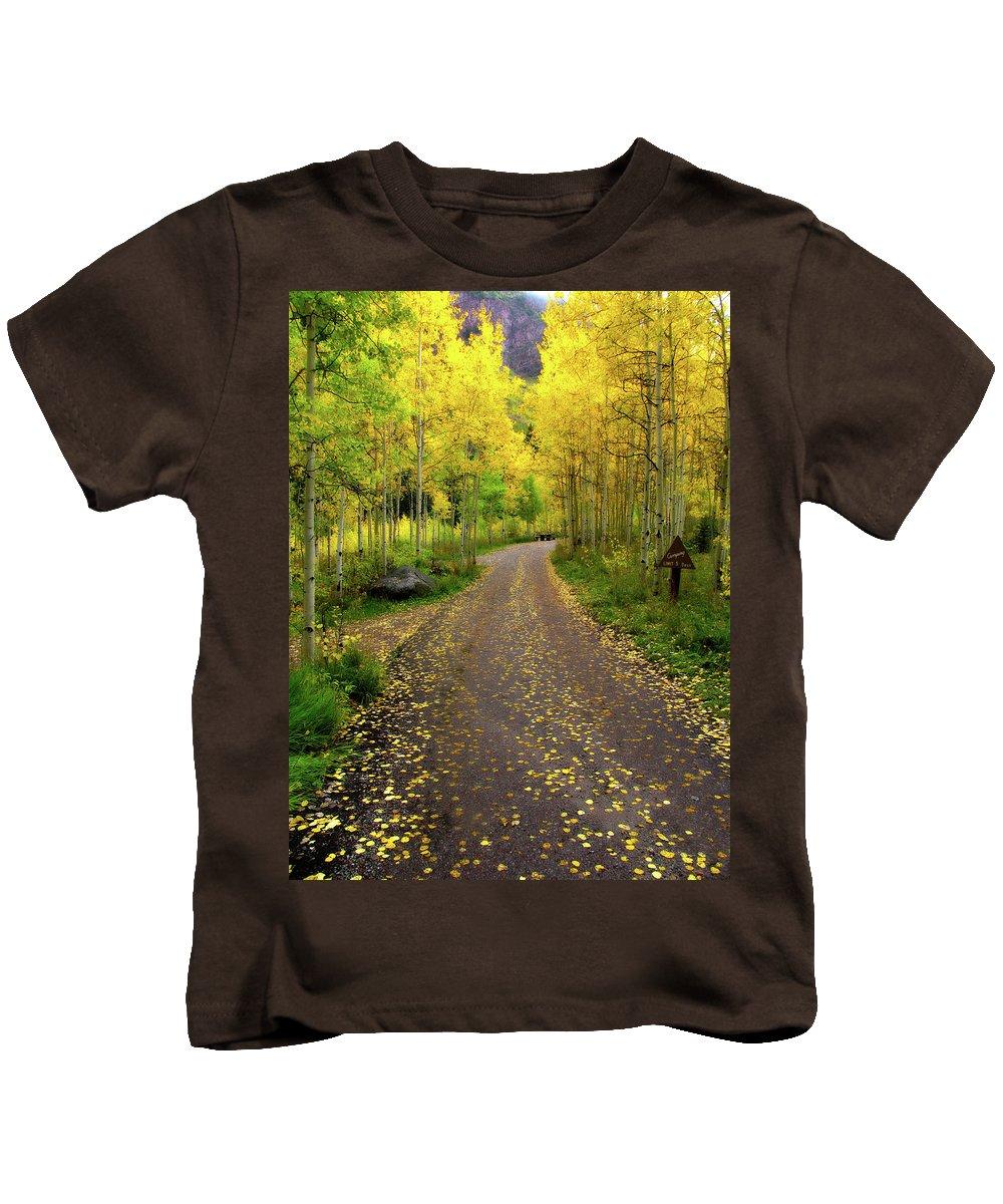Fall Kids T-Shirt featuring the photograph Fall Dream by Scott Mahon
