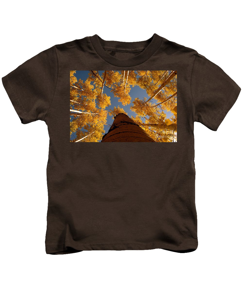 Fall Kids T-Shirt featuring the photograph Falling Sky by David Lee Thompson
