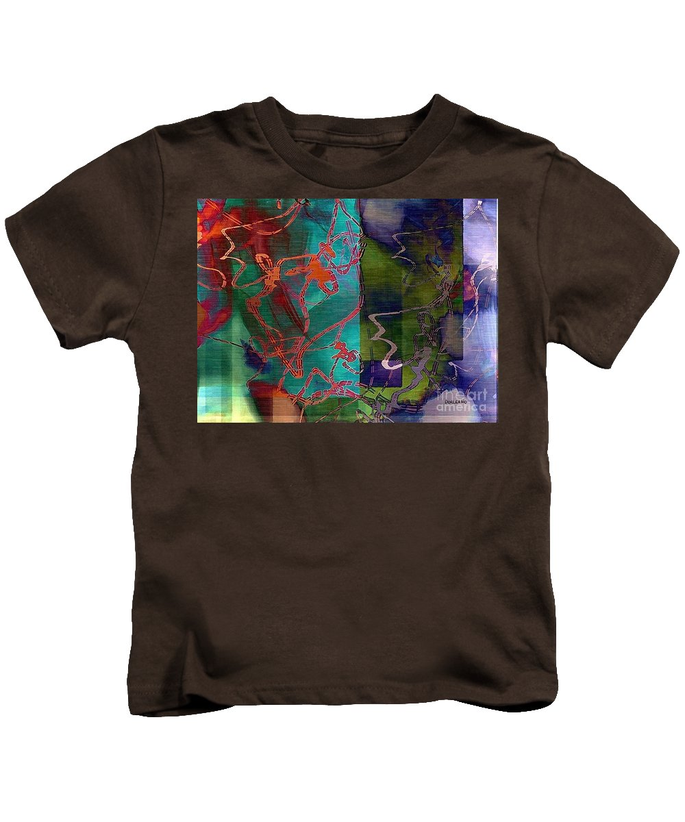 Hawaii Kids T-Shirt featuring the digital art Fanciful by Dorlea Ho