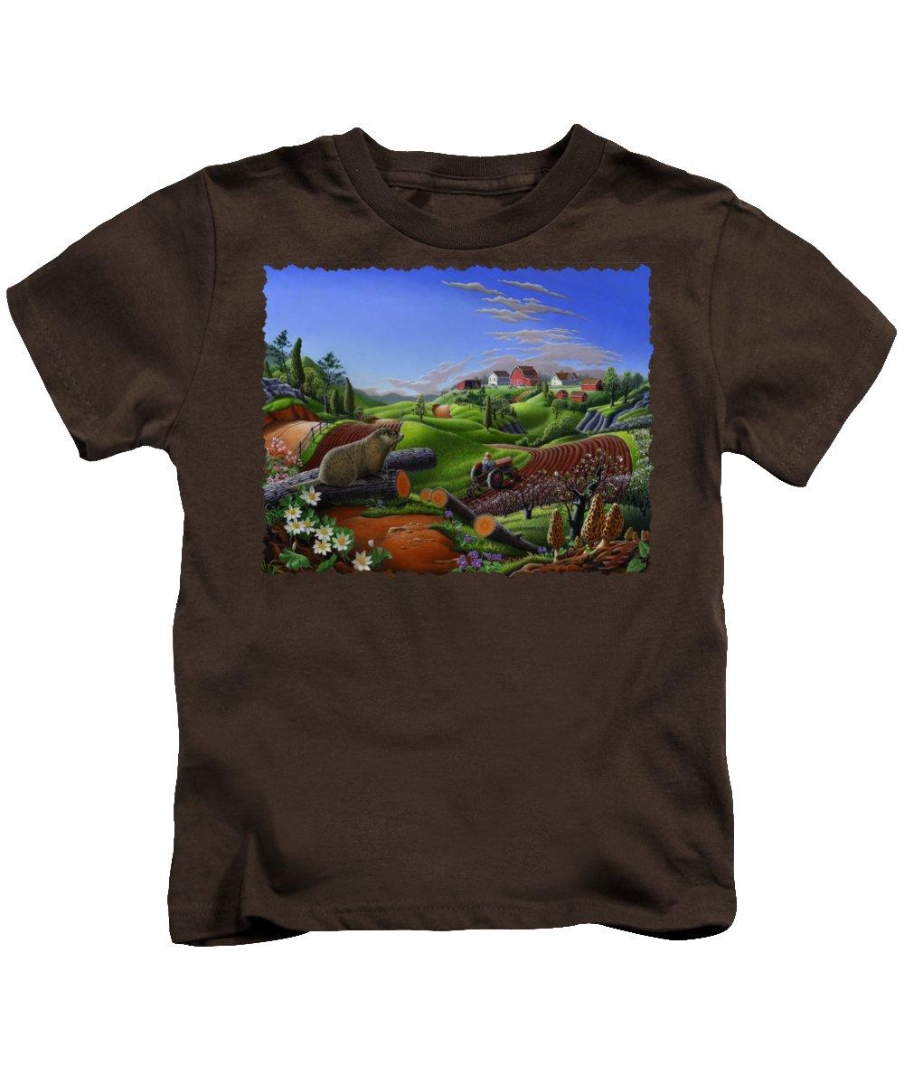 Groundhog Kids T-Shirts