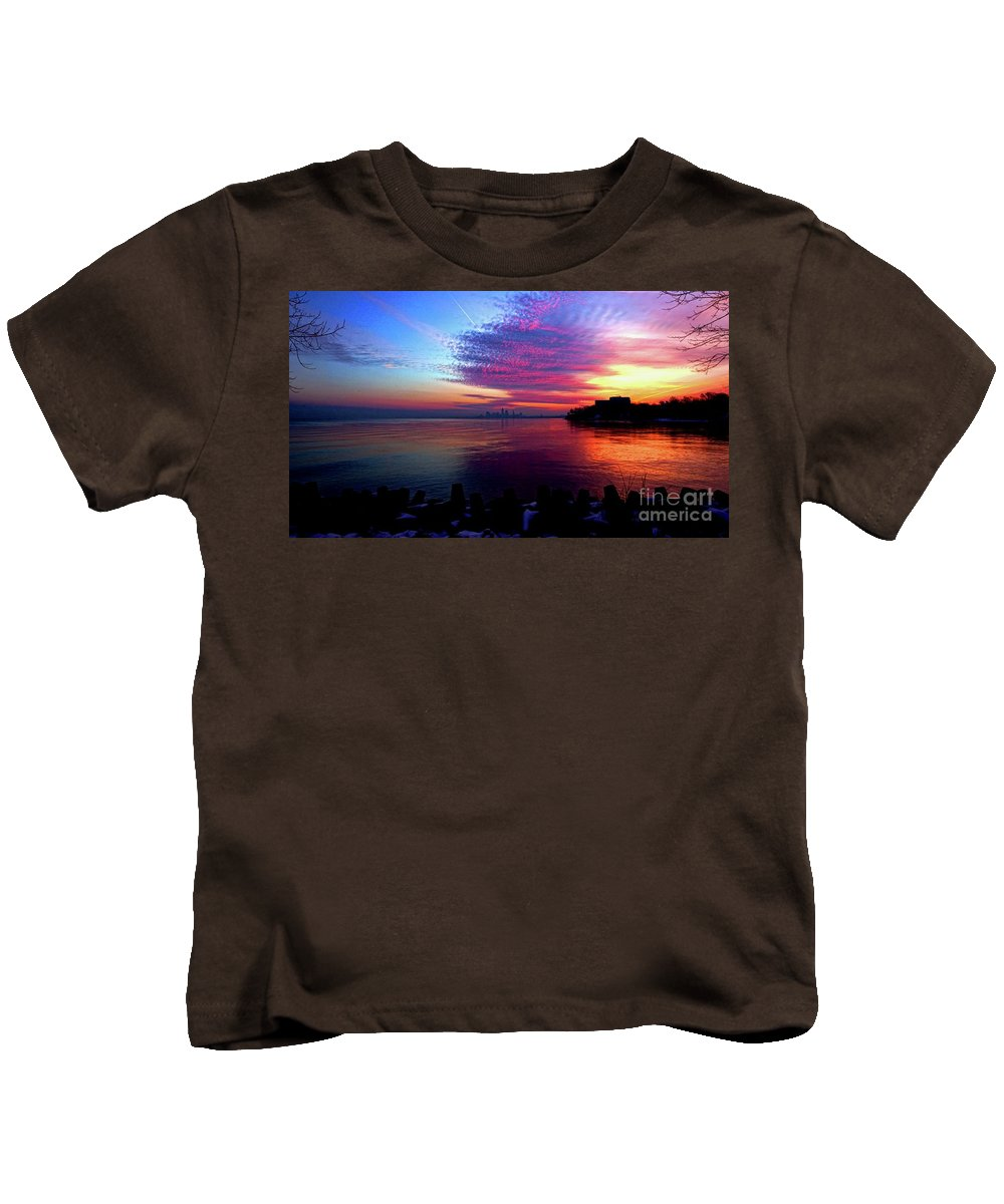 Winter Kids T-Shirt featuring the photograph February's New Hope by Dominic Flauto