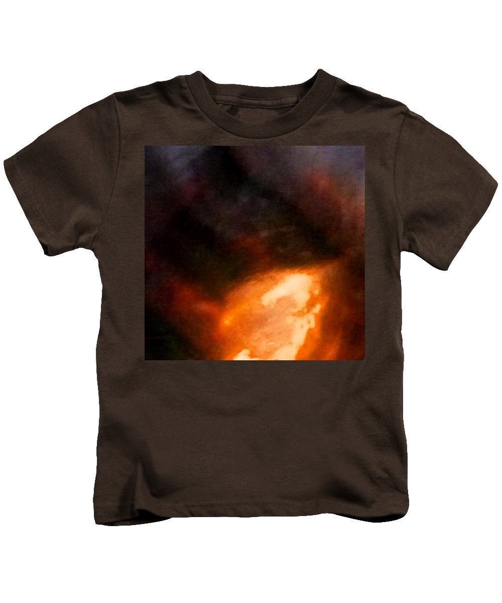 Abstract Kids T-Shirt featuring the photograph Flatius by BENNETT Creative Arts