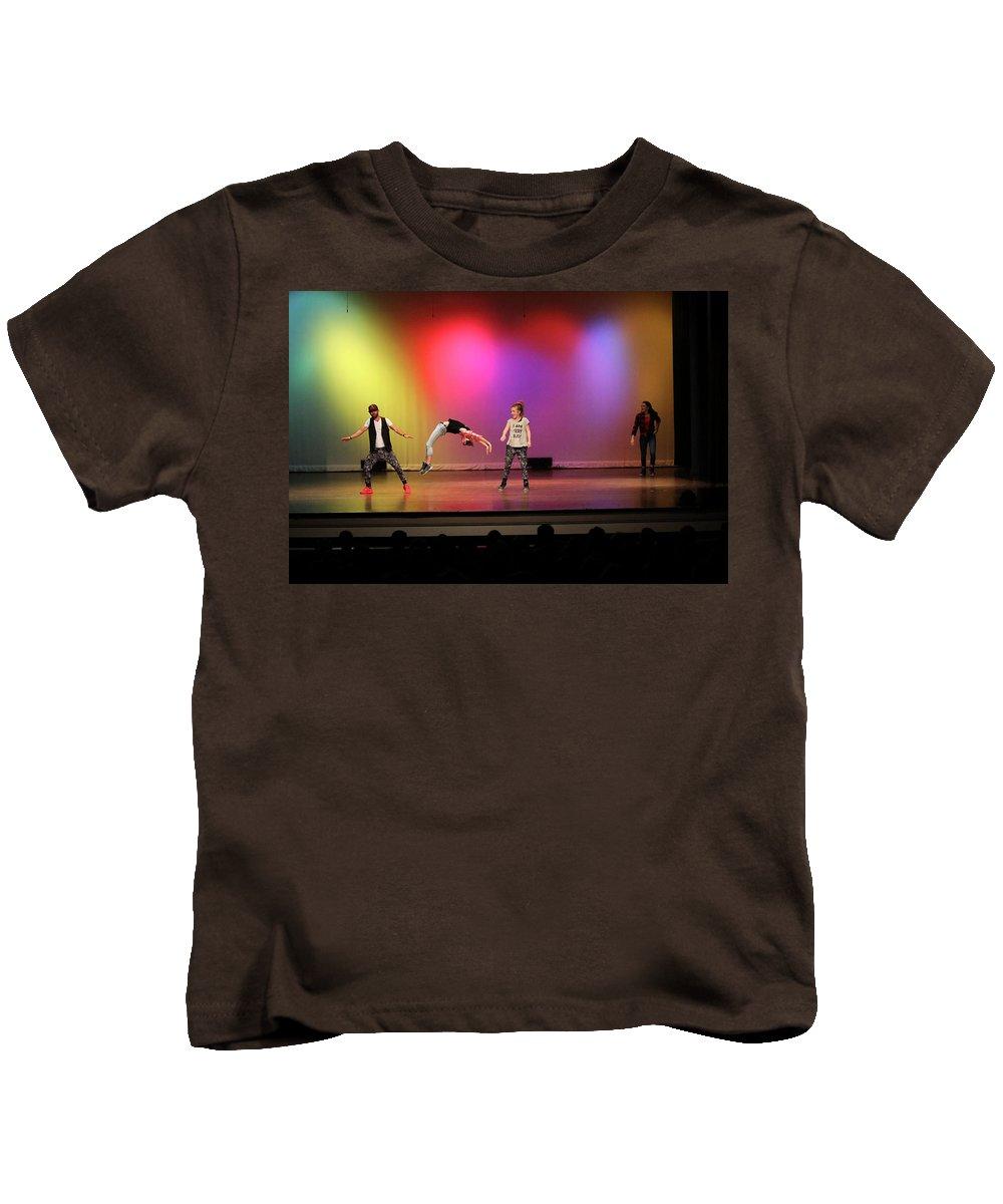 Dance Kids T-Shirt featuring the photograph Flip by Leigh Lofgren