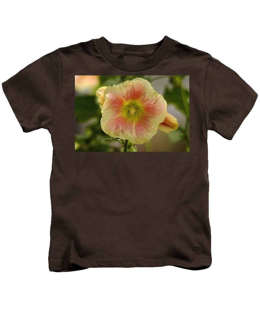 Flowers Kids T-Shirt featuring the photograph Flower Head by Cliff Norton