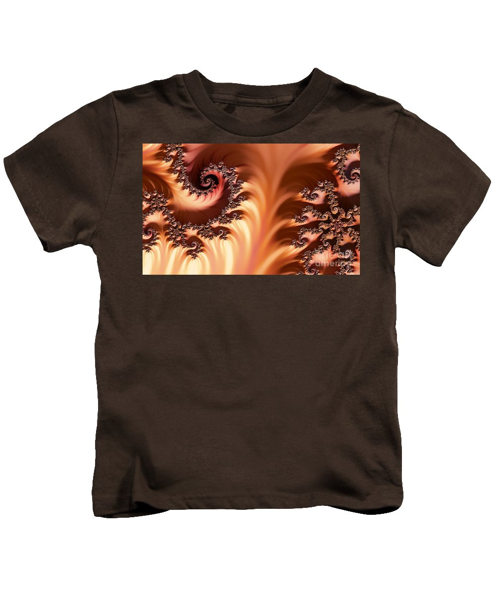 Clay Kids T-Shirt featuring the digital art Fractal Desert by Clayton Bruster