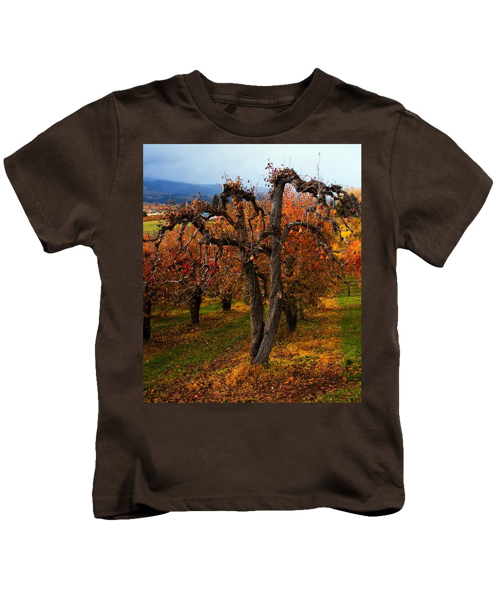 Pear Kids T-Shirt featuring the photograph Gabriel's Message by Merrill Beck