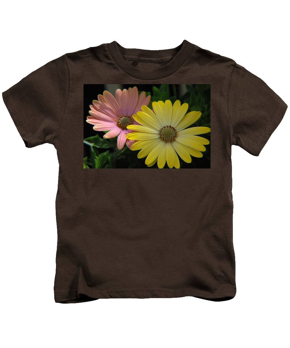Flower Kids T-Shirt featuring the photograph Gerber Daisies by Jerry McElroy