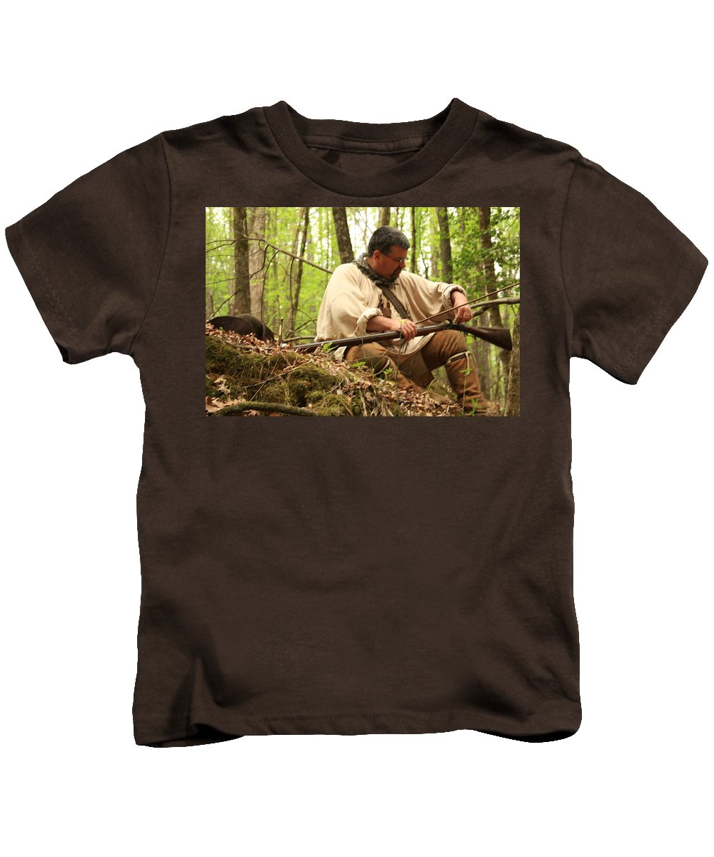 Kids T-Shirt featuring the photograph Getting Ready by Kim Henderson