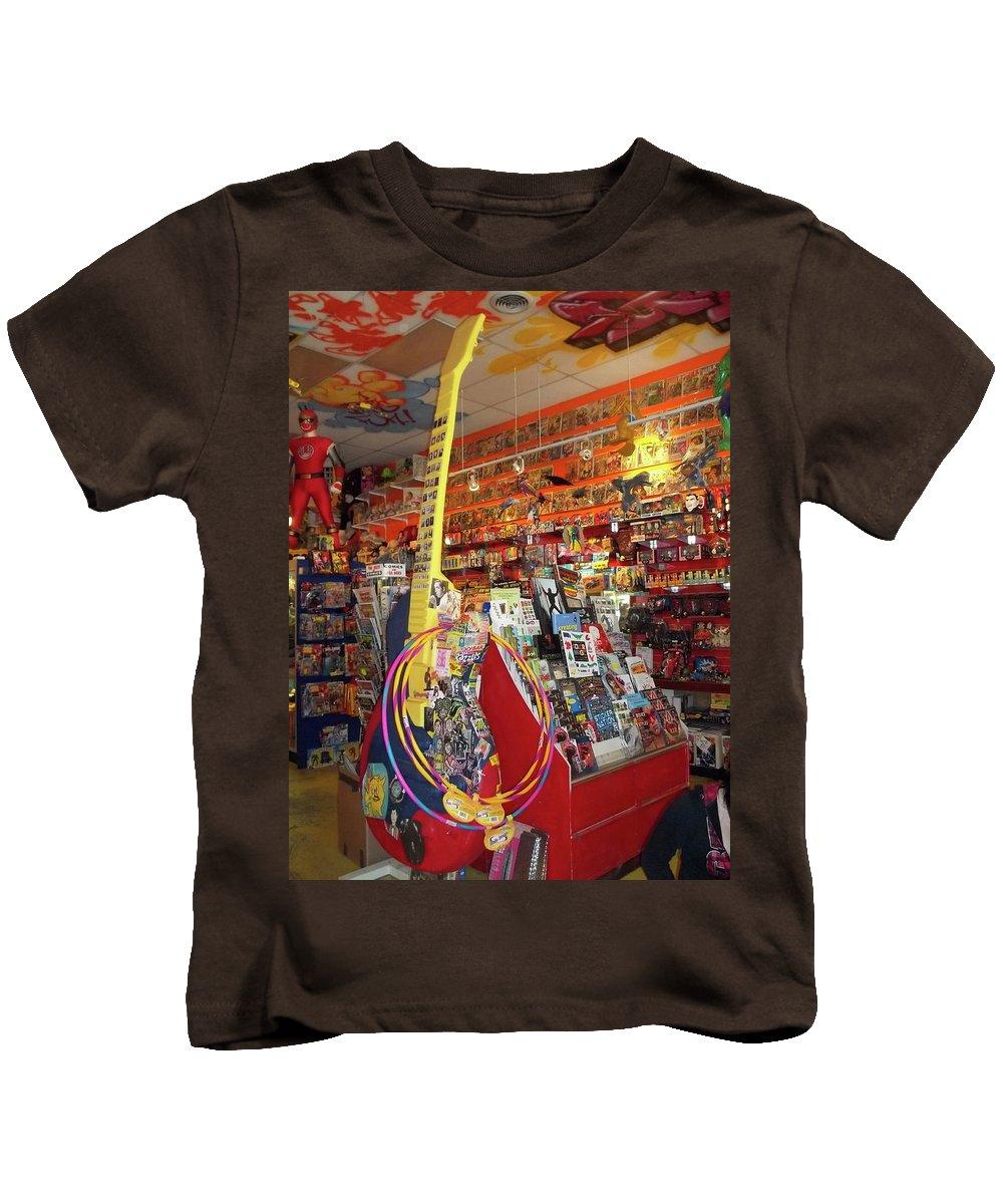 Guitar Kids T-Shirt featuring the photograph Guitar Dream 2 by Anne Cameron Cutri